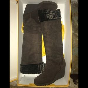 Fendi Boots Women's size 8 1/2